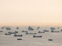 Frota imobilizada em recorde de 1,3 milhões de TEU