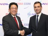 CMA CGM compra NOL e reforça 3.º lugar mundial