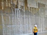 Fendas no canal do Panamá ameaçam inauguração em Abril