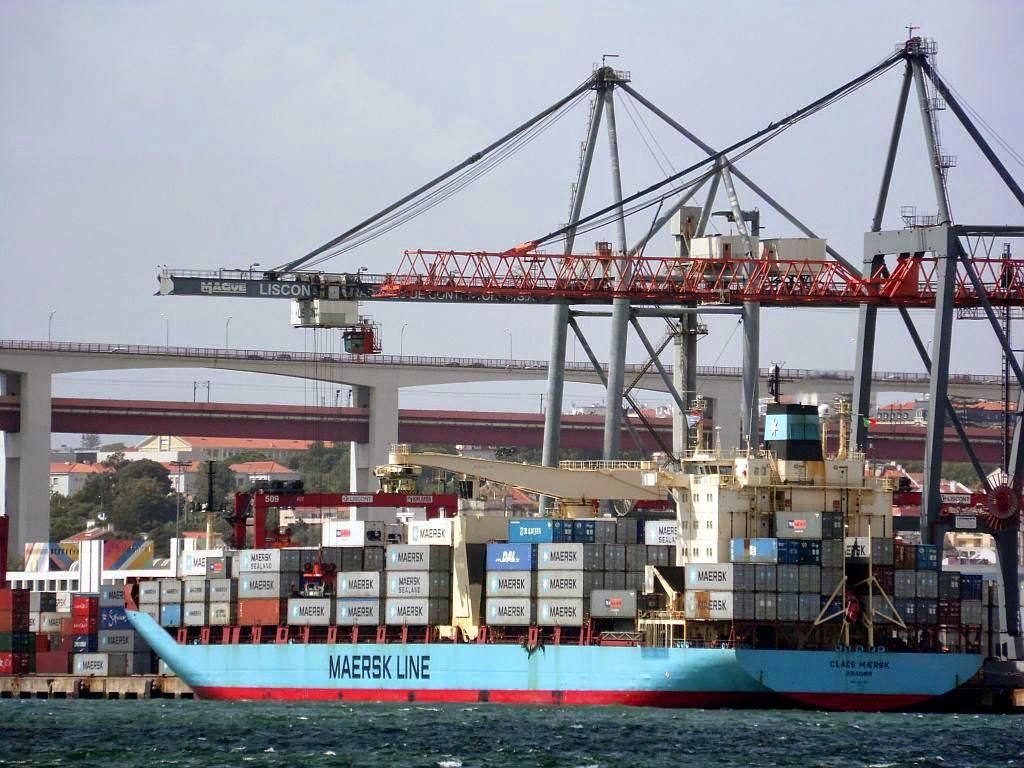 Maersk Line - Lisboa