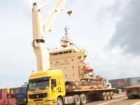 Porto de Cabinda movimentou 16,7 mil contentores