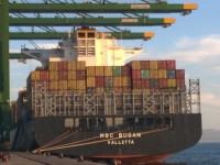 MSC Portugal supera os 2M TEU no import/export