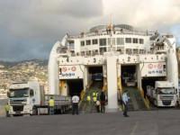 """EN Madeirense sozinha na """"corrida"""" ao ferry da Madeira"""
