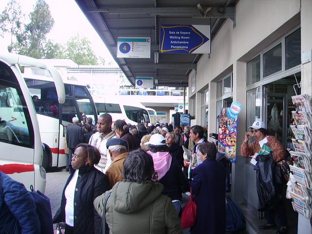 Autocarros - Rodoviária do Tejo