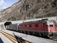 Túnel de São Gotardo recebeu primeiro comboio de mercadorias