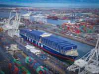 CMA CGM desloca navios de 18 000 TEU para o trans-Pacífico
