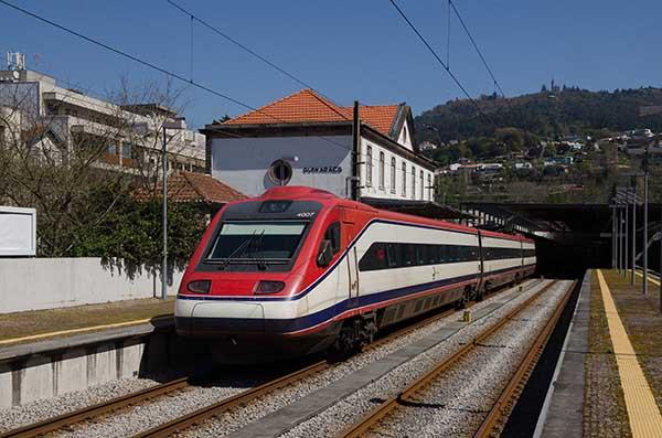 CP Alfa na Estação de Guimarães