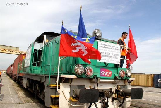 Comboio China-Lyon