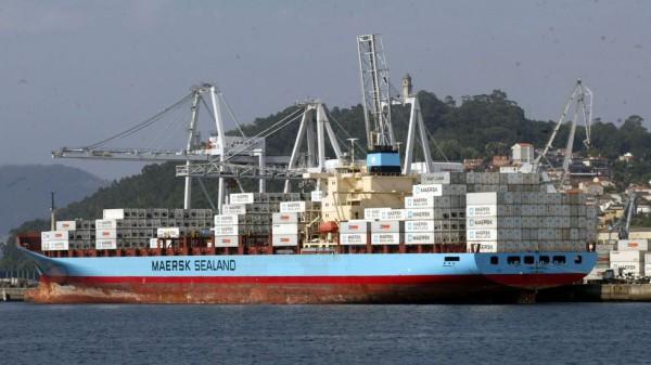Maersk Line em Vigo