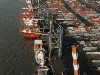 Porto de Maputo mantém fundos a -14,3 metros