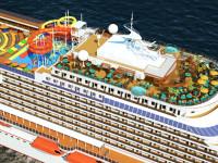 Fincantieri confirma encomenda chinesa de navios de cruzeiro
