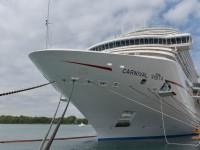 Carnival recebe o seu maior navio de cruzeiros