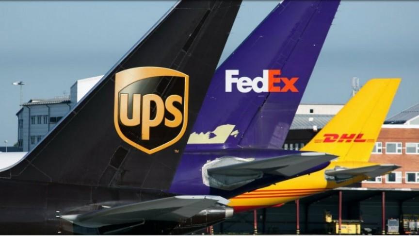 FedEx + DHL + UPS