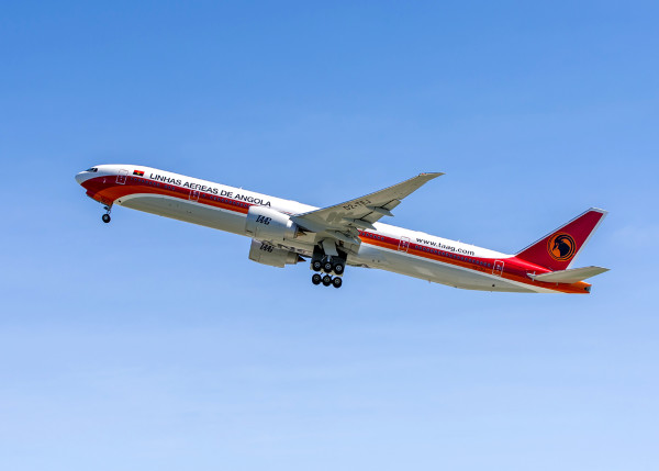 TAAG Angola 777-300ER ANG #13560-WE626 Delivery