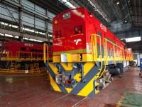 Angola recebe as primeiras locomotivas GE