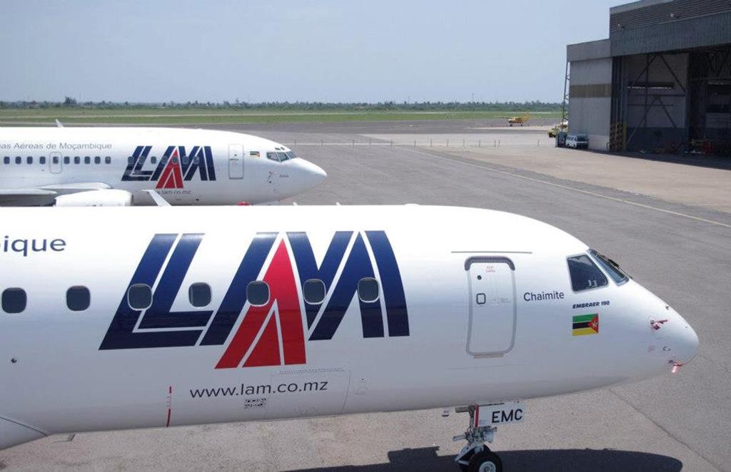 LAM deixa de voar entre Maputo e Luanda
