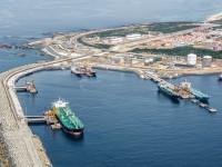 Cargas nos portos abaixo da linha de água em Maio