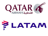 Qatar Airways compra 10% da Latam