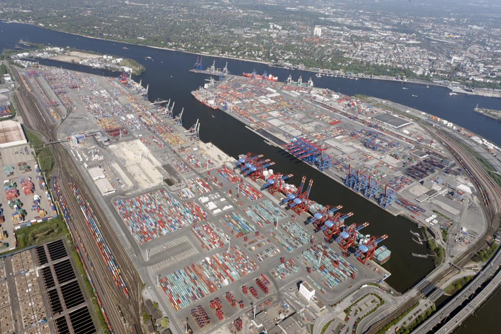 Hamburgo - terminal de contentores