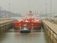 Canal do Panamá recebe primeiro petroleiro Suezmax