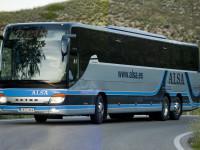 Alsa junta viagem de autocarro e automóvel