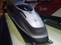 AV: Chinesa CRSS propõe comboio de passageiros e mercadorias