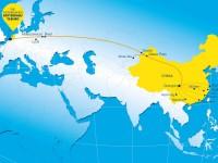 Comboio liga a China a Roterdão em 15 dias