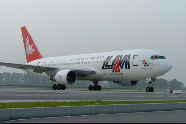 LAM voará uma vez por semana entre Maputo e Lisboa