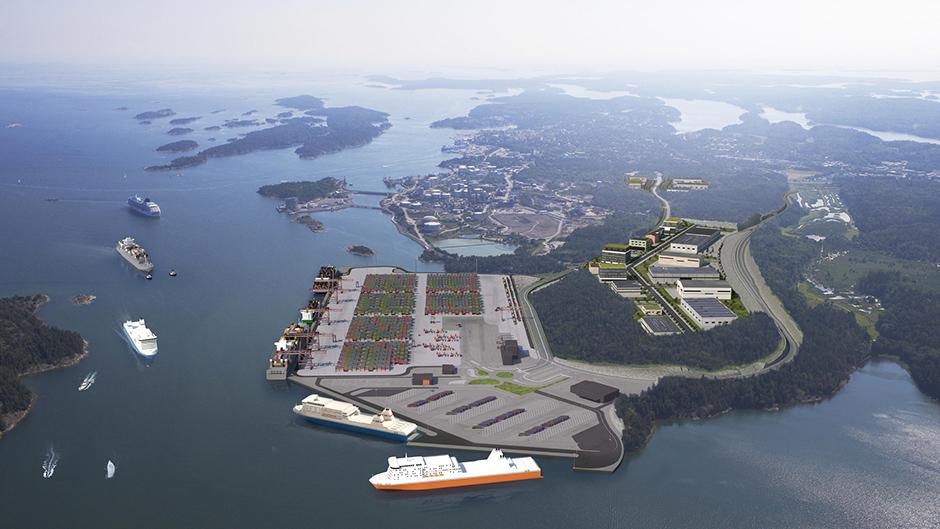 Porto de Estocolmo Norvik
