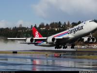Cargolux antecipou recepção do seu 14.º B747-8F