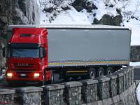 Suíça aperta regras das emissões dos camiões