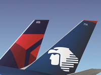 Delta posiciona-se para ter 49% da Aeroméxico