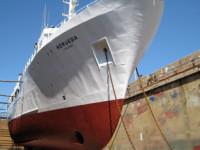 Navalria na lista europeia para desmantelamento de navios