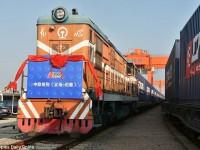 China lança comboio de mercadorias para o Reino Unido