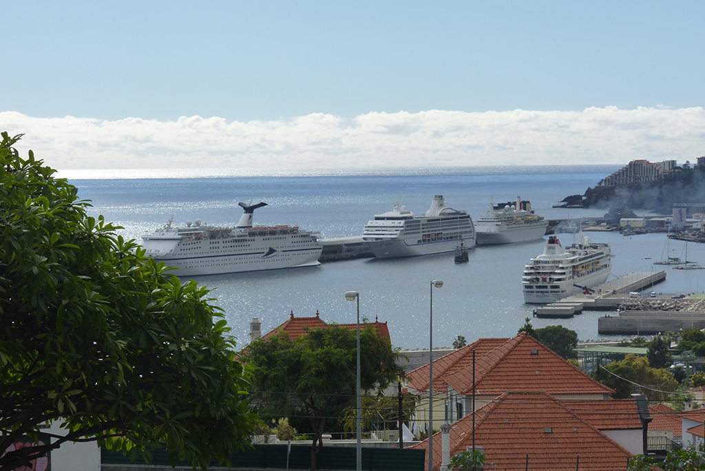 Porto do Funchal - Cruzeiros