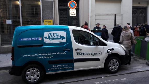 Carsharing comerciais Paris