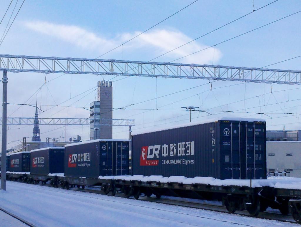 Comboio China-Riga
