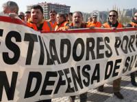 Estivadores espanhóis desconvocam primeiros dias de greve