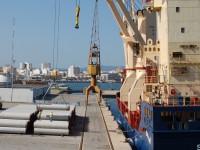 Cargas para a Argélia embarcadas em Portimão