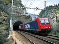 Ferrovia com recorde de 71% de quota nos Alpes suíços
