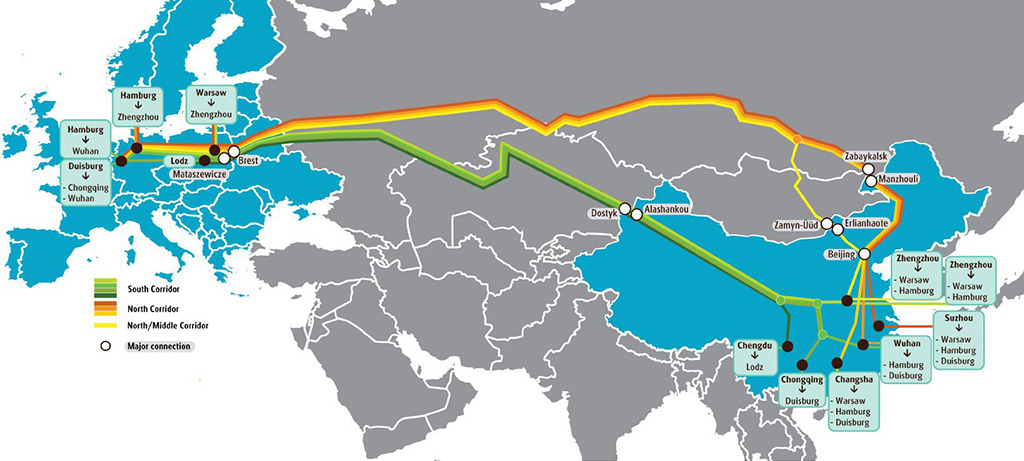 UPS-China-Europa