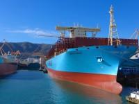 Maersk recebe primeiro Triple E de 20 568 TEU