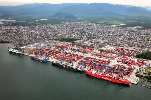 Porti de Santos - Brasil