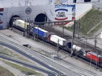 Túnel da Mancha com recorde de 7 mil camiões/dia