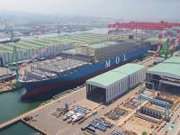 MOL prestes a receber o segundo navio de 20000 TEU