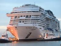 MSC Cruises recebe o primeiro Meraviglia