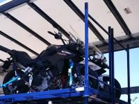 Garland lança transporte rodoviário de motas