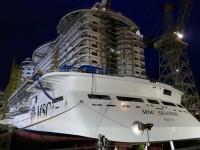 MSC Seaview lançado em Itália