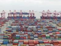 China perdeu mais de 10% de contentores