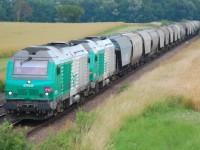 Franceses querem duplicar quota da ferrovia